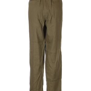 NWT St John Collection Olive Linen Pants Size XL